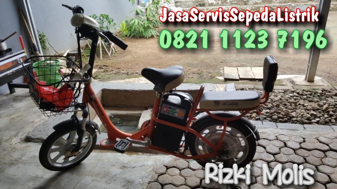 Servis sepeda listrik Rizki Molis - Depok - Bengkel sepeda ...